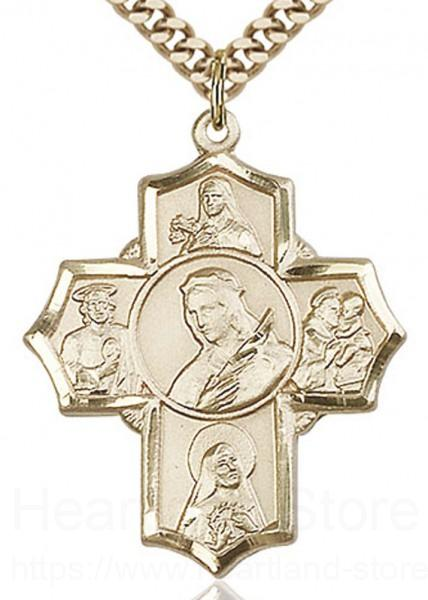 TONYS JEWELRY CO 14kt Gold Filled Cross Pendant
