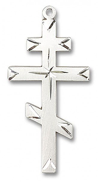 Cross Pendant, Sterling Silver - No Chain