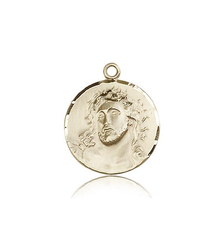 Ecce Homo Medal, 14 Karat Gold - 14 KT Yellow Gold