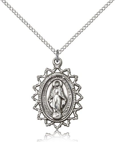 Miraculous Necklace Sterling Silver