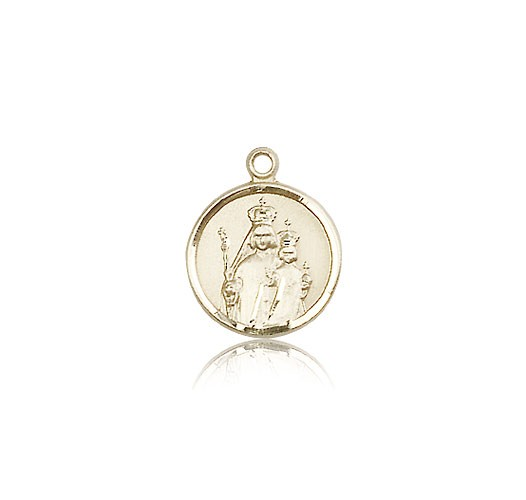 Our Lady of Consolation Medal, 14 Karat Gold - 14 KT Yellow Gold