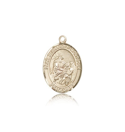 St. Bernard of Montjoux Medal, 14 Karat Gold, Medium - 14 KT Yellow Gold