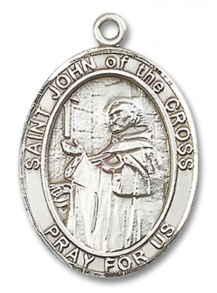 St. John of the Cross Medal, Sterling Silver, Large - No Chain