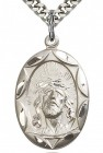 Ecce Homo Medal, Sterling Silver