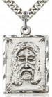 Holy Face Medal, Sterling Silver