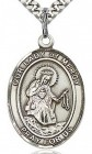 Our Lady of Mercy Medal, Sterling Silver, Large