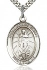 Our Lady of Tears Medal, Sterling Silver, Large
