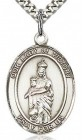 Our Lady of Victory Medal, Sterling Silver, Large
