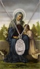 Oval St. Anne Medal and Prayer Card Set
