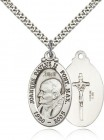 Pope John Paul II Medal, Sterling Silver