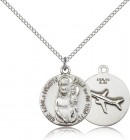 Our Lady of Loretto Medal, Sterling Silver