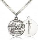 Pope John Paul II Vatican Medal, Sterling Silver
