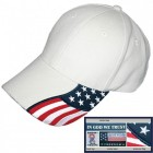Stars and Stripes Structure Baseball Cap - 9 colors