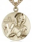 St. Andrew Medal, Gold Filled