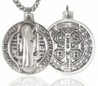 St. Benedict Medal, Sterling Silver