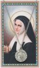 St. Bernadette Medal with Prayer Card