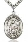 St. Deborah Medal, Sterling Silver, Large