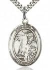 St. Elmo Medal, Sterling Silver, Large