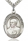 St. Ignatius of Loyola Medal, Sterling Silver, Large