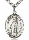 St. Patrick Medal, Sterling Silver, Large