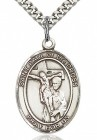 St. Paul of the Cross Medal, Sterling Silver, Large