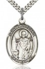 St. Wolfgang Medal, Sterling Silver, Large