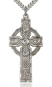 Cross Pendant, Sterling Silver [BL4329]