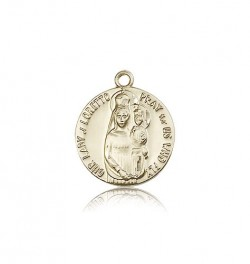 Our Lady of Loretto Medal, 14 Karat Gold [BL4936]