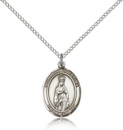 Our Lady of Fatima Medal, Sterling Silver, Medium [BL0289]