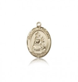 Our Lady of Loretto Medal, 14 Karat Gold, Medium [BL0364]
