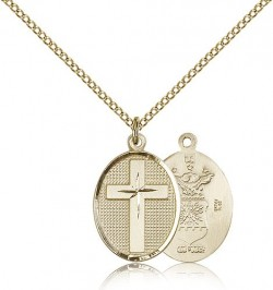 Air Force Cross Pendant, Gold Filled [BL5006]