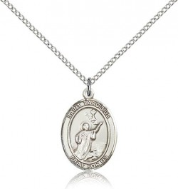 St. Tarcisius Medal, Sterling Silver, Medium [BL3731]