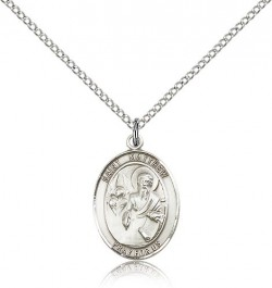 St. Matthew the Apostle Medal, Sterling Silver, Medium [BL2820]