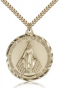 Miraculous Medal, Gold Filled [BL4249]