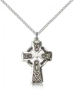 Celtic Cross Pendant, Sterling Silver [BL6464]