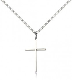 Cross Pendant, Sterling Silver [BL4009]