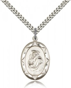 St. Anthony Medal, Sterling Silver [BL4854]