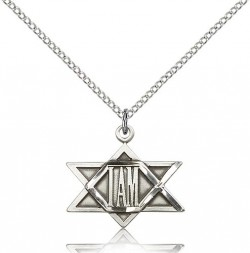 I Am Star Medal, Sterling Silver [BL6589]