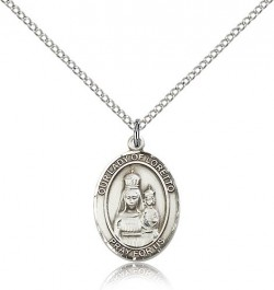 Our Lady of Loretto Medal, Sterling Silver, Medium [BL0370]