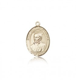 St. Ignatius of Loyola Medal, 14 Karat Gold, Medium [BL2080]