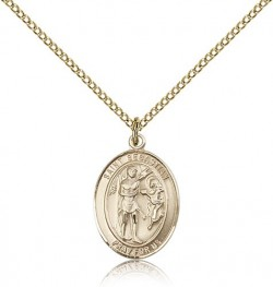 St. Sebastian Medal, Gold Filled, Medium [BL3505]