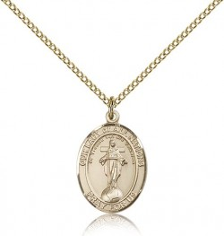 Our Lady of All Nations Medal, Gold Filled, Medium [BL0259]