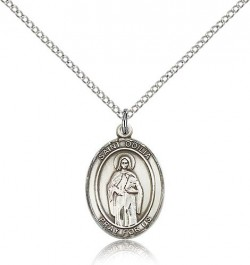 St. Odilia Medal, Sterling Silver, Medium [BL2983]