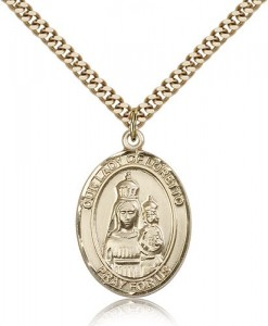Our Lady of Loretto Medal, Gold Filled, Large [BL0366]