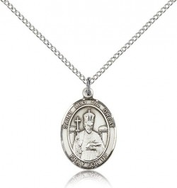 St. Leo the Great Medal, Sterling Silver, Medium [BL2599]
