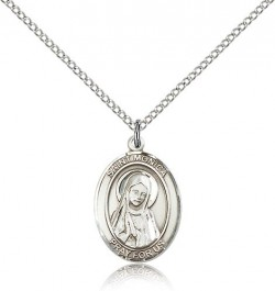 St. Monica Medal, Sterling Silver, Medium [BL2947]