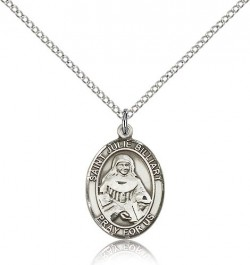 St. Julie Billiart Medal, Sterling Silver, Medium [BL2500]