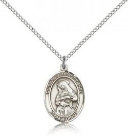Our Lady of Providence Medal, Sterling Silver, Medium [BL0442]