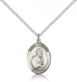 St. Peter the Apostle Medal, Sterling Silver, Medium [BL3067]