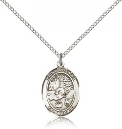 St. Rosalia Medal, Sterling Silver, Medium [BL3301]